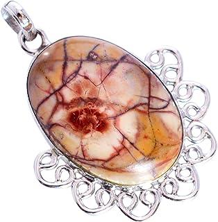 Ravishing Impressions Jewellery Ojo de pájaro piedra preciosa 925 sólida plata esterlina colgante hermosa joyería del dise...