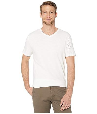 Alternative Slub Keeper V-Neck (White) Men
