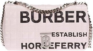 Burberry mujer Horseferry bolsa de asa larga rosa