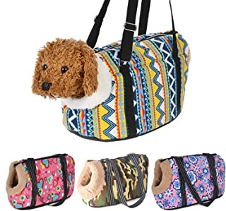 littlepiggy Classic Pet Carrier for Small Dogs Cozy Soft Puppy Cat Dog Bags Backpack Outdoor Travel Pet Sling Bag Chihuahua Pug Pet Supplies