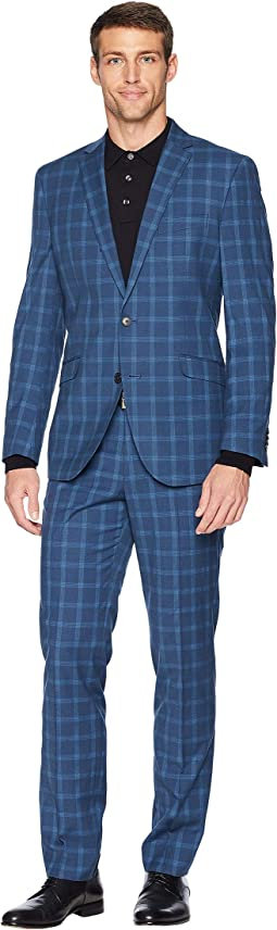 "Slim Fit 32"" Finished Bottoms Suit"