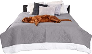 Furhaven Pet Furniture Cover - Quilted Twill Waterproof Non-Slip Bed and Living Room Furniture Cover Protector for Dogs an...