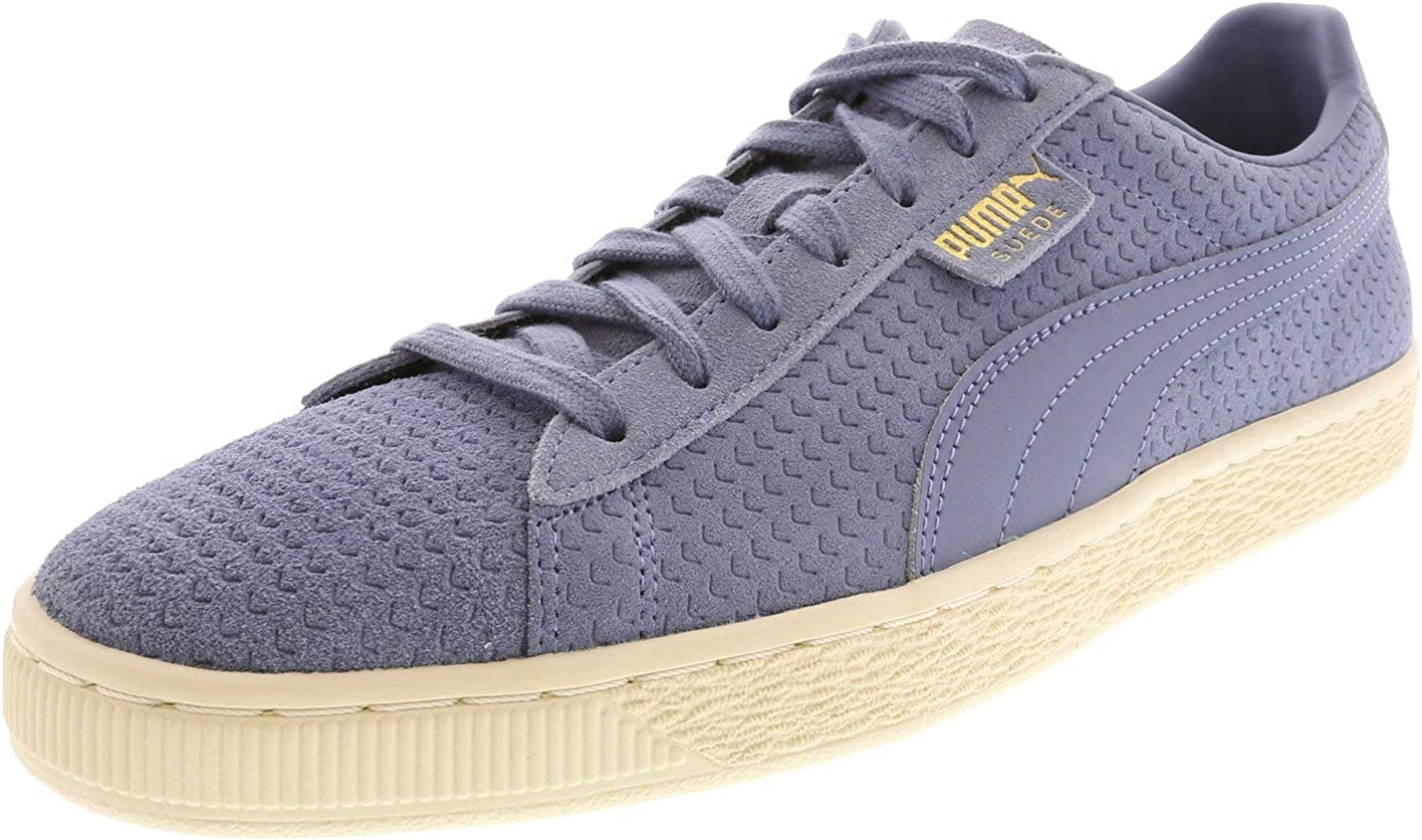 PUMA Men's Suede Classic Perforation Ankle-High Fashion Sneaker