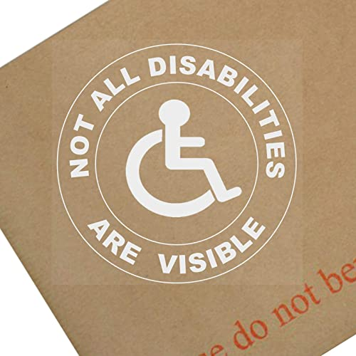Disabled Driver Self Adhesive Sticker Fun Car Motor Vehicle Home Window Sign