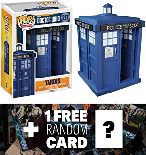 """t.a.r.d.i.s: ~ 6"""" Deluxe Funko POP. x Doctor Who vinilo Figura + 1free oficial Dr Who Trading Card Bundle [52867]"""