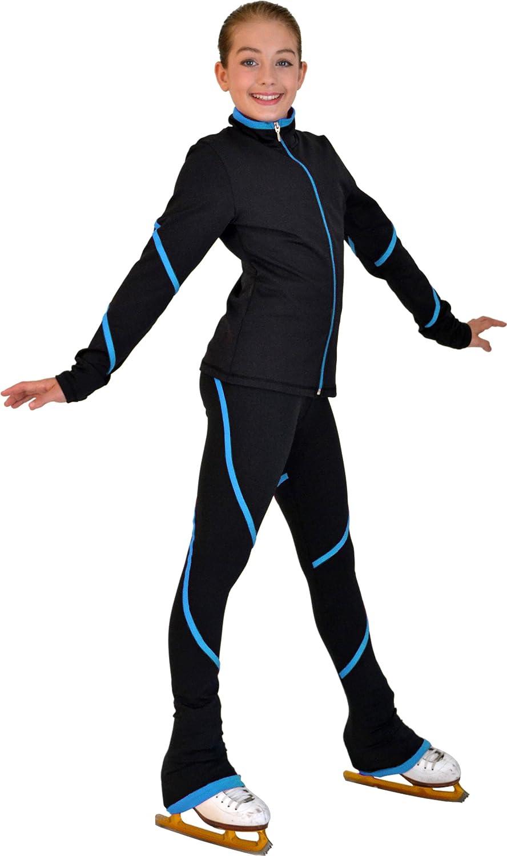 Chloe Noel P76 - Heavy Poly Pipings Pants In stock Skate Swirl free Spandex