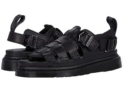Dr. Martens 8092 ARC Mono (Black) Shoes