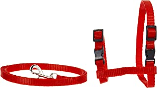 Mumoo Bear Adjustable Harness and Leash Collar with Lead for Cat and Small Pets- Assorted Colors