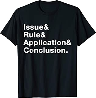 IRAC Legal Writing t-shirt