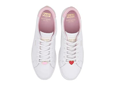 Keds x kate spade new york Ace Lips/Hearts (White/Pink) Women