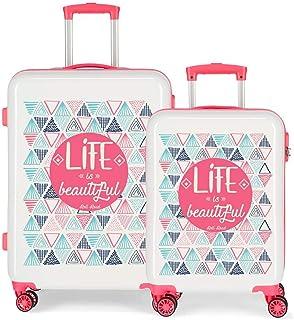 Roll Road Life Luggage Set 67 centimeters 100.5 Multicolour (Multicolor)