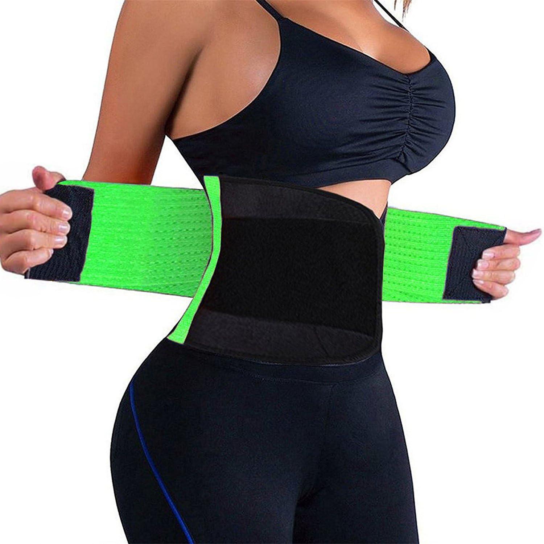 VENUZOR Waist Trainer Belt for Women  Waist Cincher Trimmer  Slimming Body Shaper Belt  Sport Girdle Belt (up Graded)