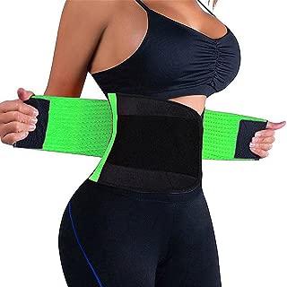 Waist Trainer Belt for Women - Waist Cincher Trimmer - Slimming Body Shaper Belt - Sport Girdle Belt (UP Graded)