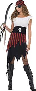 Smiffy'S 30716S Disfraz De Moza Pirata Con Vestido Y Adorno
