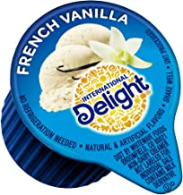 International Delight, French Vanilla, Single-Serve Coffee Creamers, 288 Count (Pack of 1), Shelf Stable Non-Dairy Flavored Coffee Creamer, Great for Home Use, Offices, Parties or Group Events