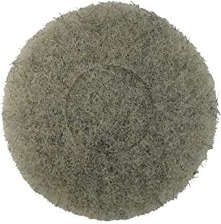 Norton Ultra Grizzly Hog's Hair Pad -- 7 3/4 Inch Diameter