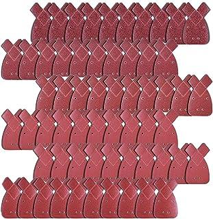 JZK 60x Schuurpapier voor schuurmachine mouse, 40 60 80120180240 assortiment korrelvellen schuurpapier voor schuurmachine ...