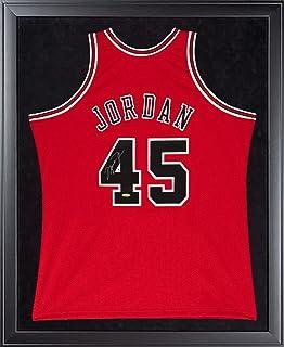4471236f9da MICHAEL JORDAN Signed Bulls Mitchell & Ness 45 Authentic 1995 Framed Jersey  UDA