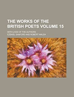 The Works of the British Poets; With Lives of the Authors Volume 15