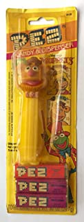 1999 Vintage Jim Henson Muppets PEZ Candy & Dispenser - Fozzie Bear