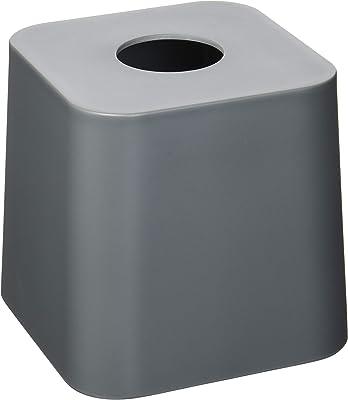 umbra ティッシュボックス ティッシュケース 洗面所 チャコール 17x16x15cm SCILLAE 21009272149
