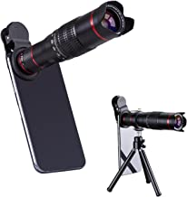HXGD Mobile Camera Lens 22x Phone Camera Telephoto Lens, Double Regulation Phone Lens Attchment with Tripod for iPhoneX/8/7/6,Samsung.Huawei Most Smartphone
