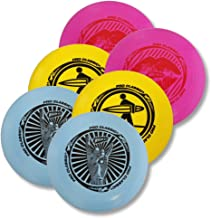 Wham-O Pro-Classic with U-Flex Frisbee (6-Pack)