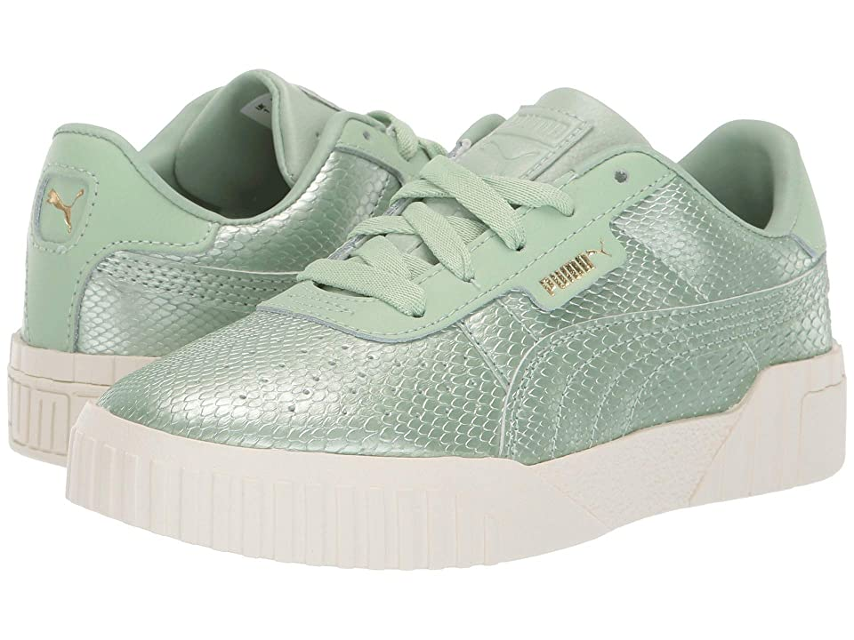 Puma Kids Cali Emboss (Little Kid) (Smoke Green/Smoke Green) Girls Shoes