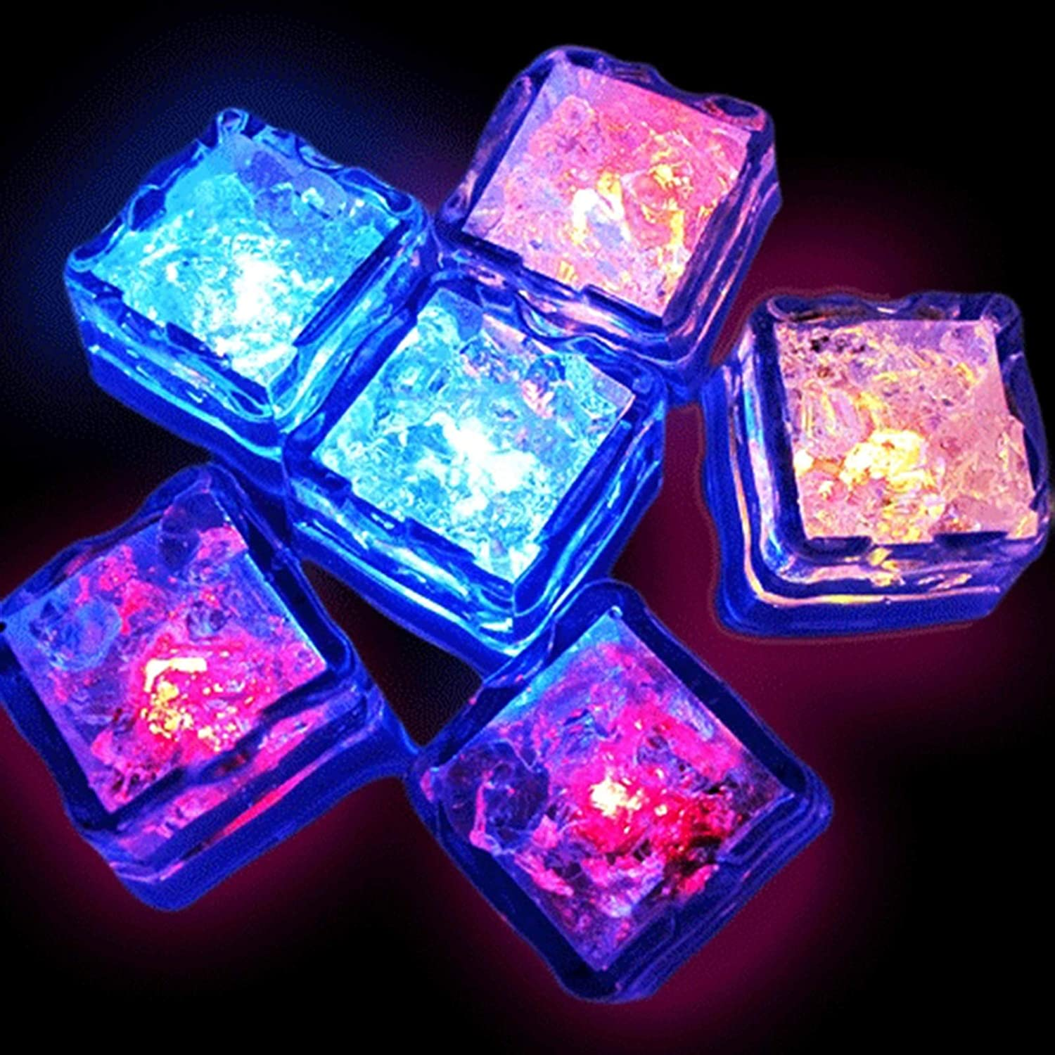 Year-end annual account Well Made Insulated 3pcs LED New color Ice Cubes Flash Ball Glowing Party