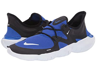 Nike Free RN 5.0 (Racer Blue/Black/White) Men