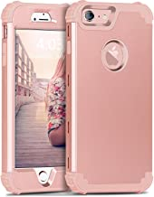 BENTOBEN Phone 6S Plus Case, iPhone 6 Plus Case, 3 in 1 Hybrid Hard PC & Soft Silicone Bumper Heavy Duty Rugged Shockproof...