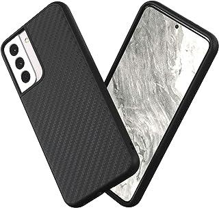 RhinoShield Samsung Galaxy S21 SolidSuitケース - 3.5mの落下衝撃からも保護 スタイリッシュなデザイン - カーボンファイバー