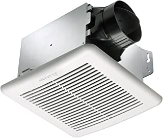 Delta Breez GBR80H GreenBuilder 80 CFM Exhaust Fan with Adjustable Humidity Sensor and Speed Control (Renewed)