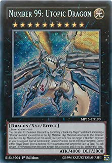 Yu-Gi-Oh!! - Number 99: Utopic Dragon (MP15-EN190) - Mega Pack 2015 - 1st Edition - Secret Rare