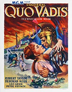 Posterazzi Quo Vadis from Left: Deborah Kerr Robert Taylor 1951 Movie Masterprint Poster Print (11 x 17)