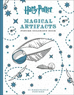 Harry Potter Magical Artifacts Poster Coloring Book