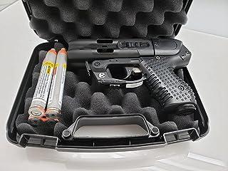 Piexon JPX4 C2 Defender with LED Laser - Compact Pepper Spray Gun Bundle