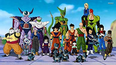 Unique Posters Dragon Ball Z Japanese Anime Television Series 12 x 18 Inch Quoted Multicolour Rolled Poster UPDB163