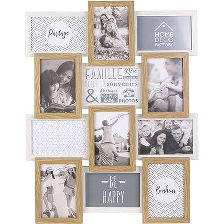 THE HOME DECO FACTORY P/êle-m/êle en Plastique 11 Vues Family