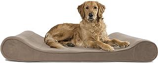 تختخواب سگ Furhaven Pet | میکرو مخملی ارتوپدی Micro Velvet Ergonomic Luxe Lounger Cradle Contour تشک حیوان خانگی برای سگها و گربه ها - موجود در رنگ ها و اندازه های مختلف