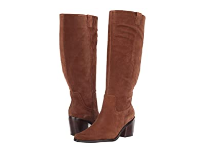 Naturalizer 27 Edit Bellamy Wide Calf (Chestnut Oil Suede) Women