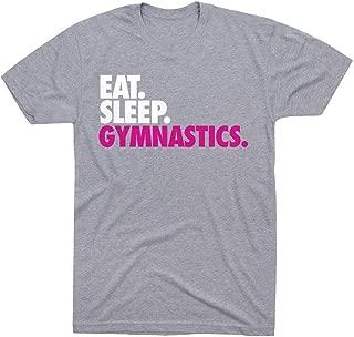Eat. Sleep. Gymnastics. T-Shirt | Gymnastics Tees by ChalkTalk SPORTS