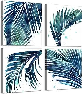 Best palm leaf canvas art Reviews