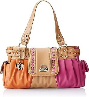 Butterflies Women's Hand Bag (Multi-Color) (BNS-0388)