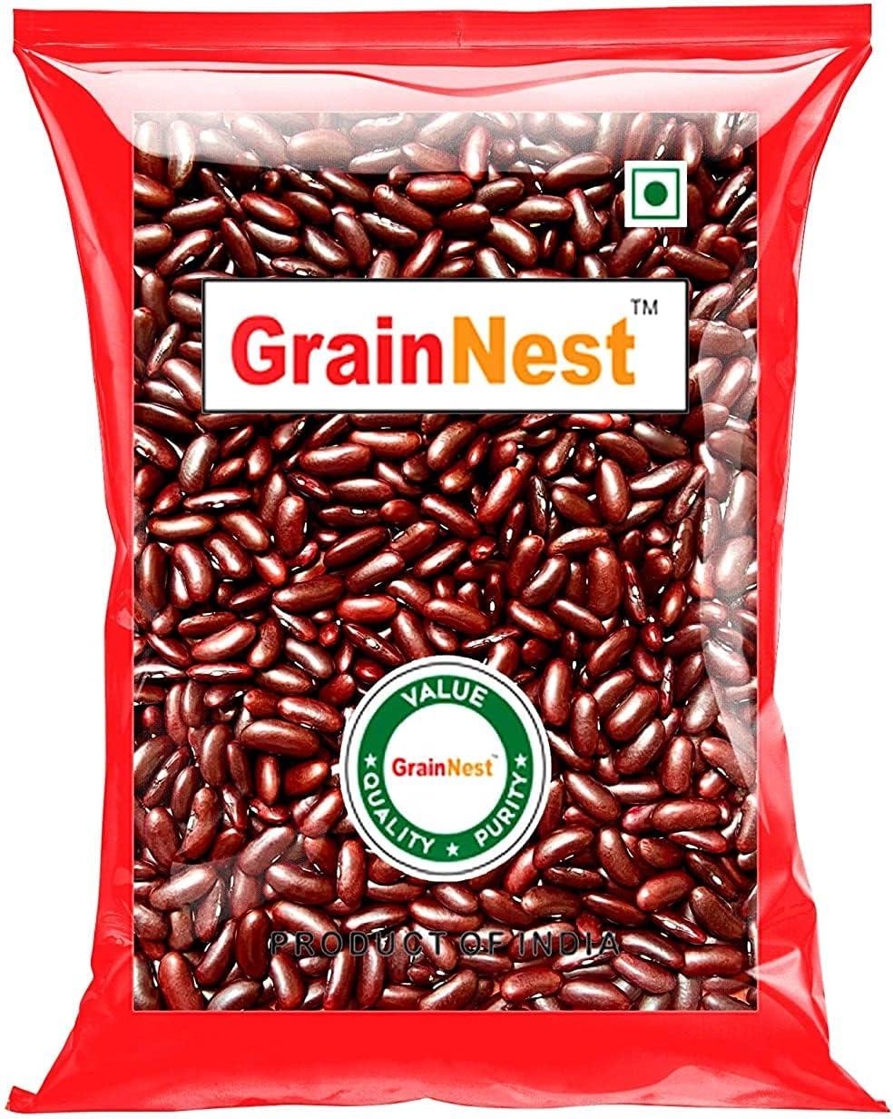 Atome GrainNest Red Rajma 2021new shipping free Beans Kidney Regular dealer 500gms
