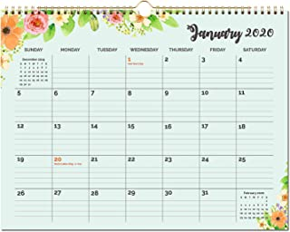 2020 Calendar - Monthly Wall Calendar with Premium Thick Paper, 15