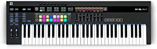 $699 » Novation 61SL MkIII, MIDI and CV Equipped Keyboard Controller with 8 Track Sequencer