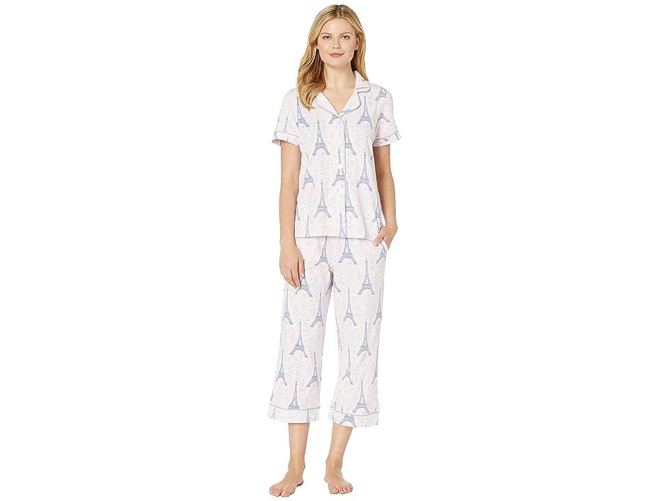 BedHead Pajamas Short Sleeve Cropped Pajama Set (Colette