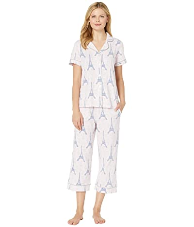 BedHead Pajamas Short Sleeve Cropped Pajama Set (Colette