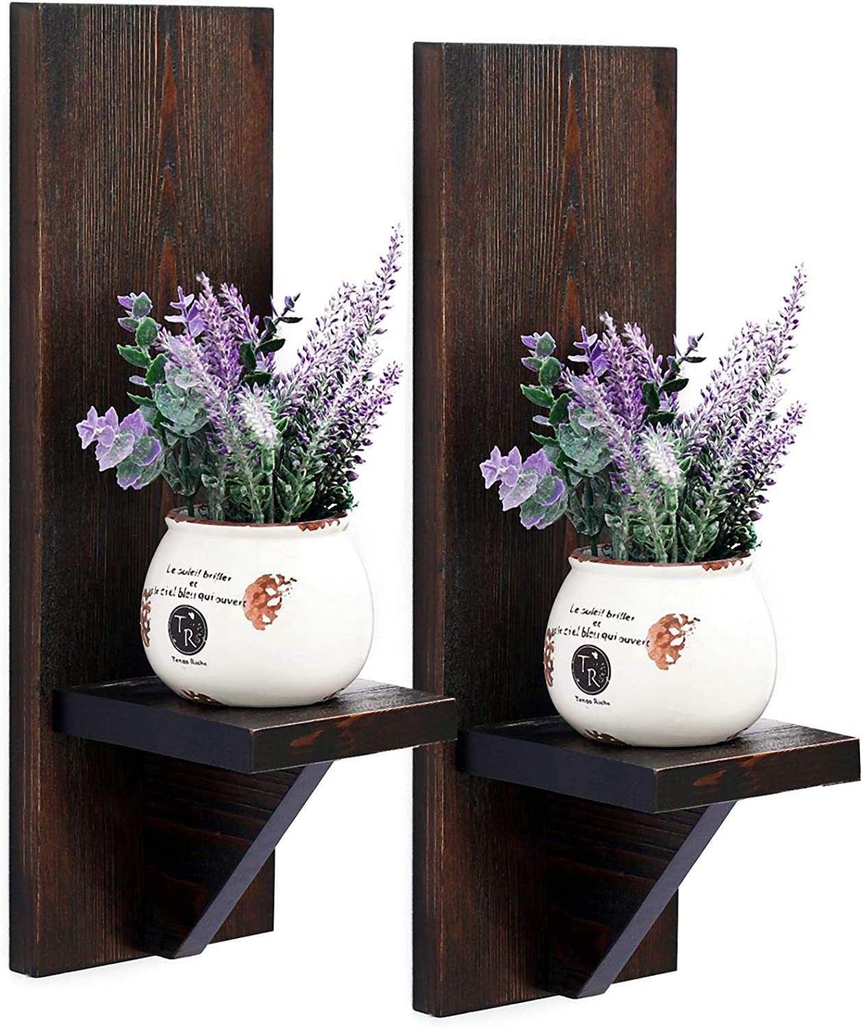 WELLAND Wall Mount depot Japan's largest assortment Rustic Candle Holder Planter Han Holders